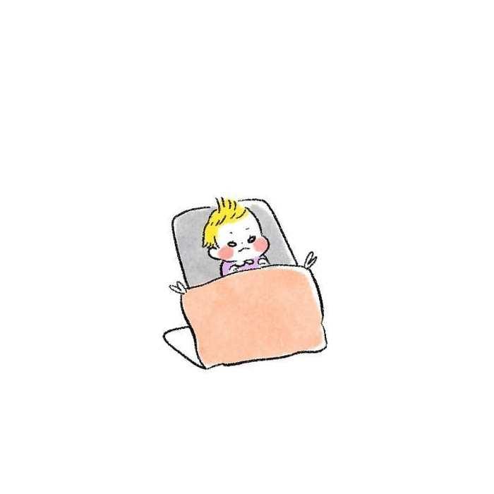 朝方ズタボロ授乳中…上の子のモーレツ癒し行動が眠気を吹っ飛ばす!の画像2