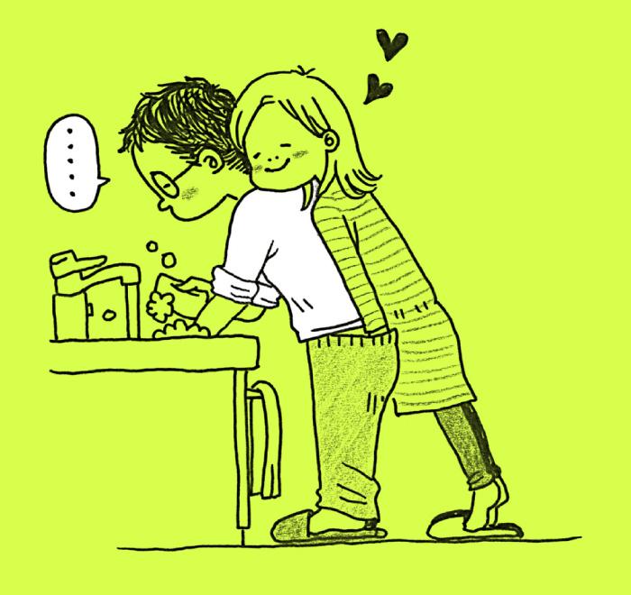 仲良し夫婦がケンカをしたら…解決法は強引&ほっこりテク♡の画像5