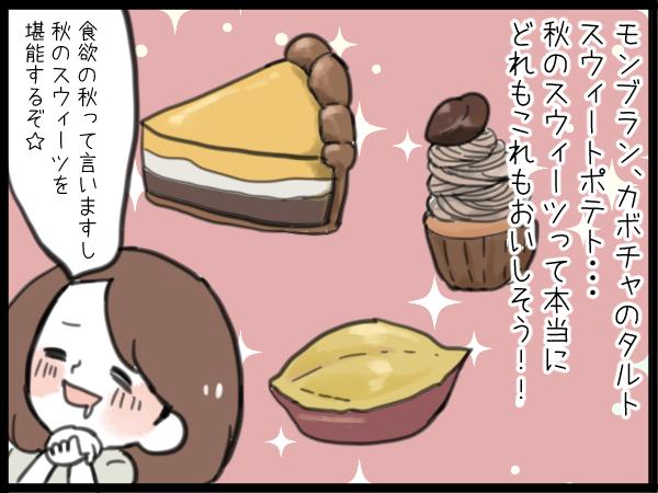 食欲の秋に打ち勝て私!「食べたい」「食べちゃダメ」大好きなお菓子を我慢した話の画像1