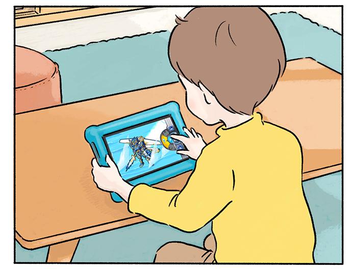タブレット1台で、子どもの「学び」と「遊び」、ママの時間まで充実 !の画像5