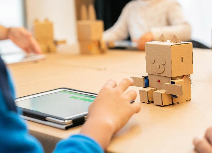 ひらめきを育てる!プログラミング×ダンボールロボットの工作キットの画像18