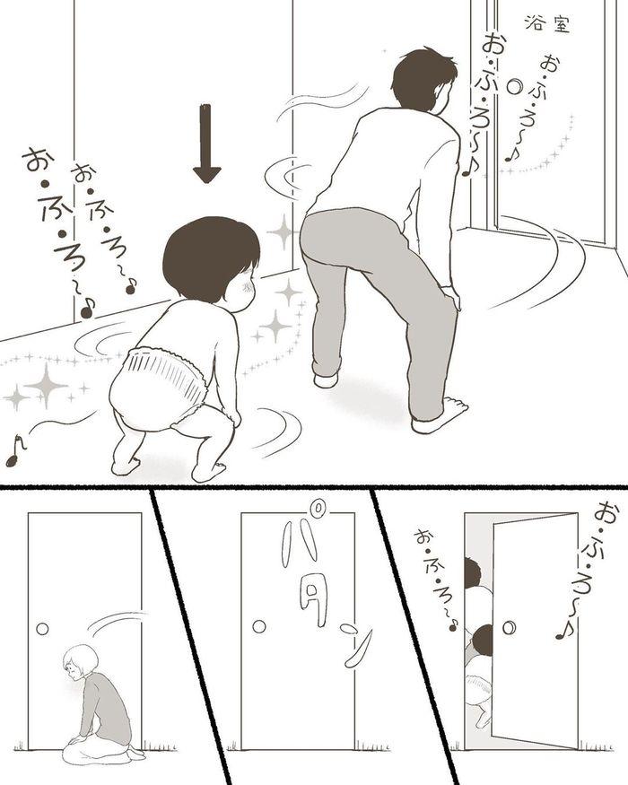 イヤイヤ対策が新しすぎる!(笑)玉砕覚悟のパパ育児が異次元のステキさ!の画像23
