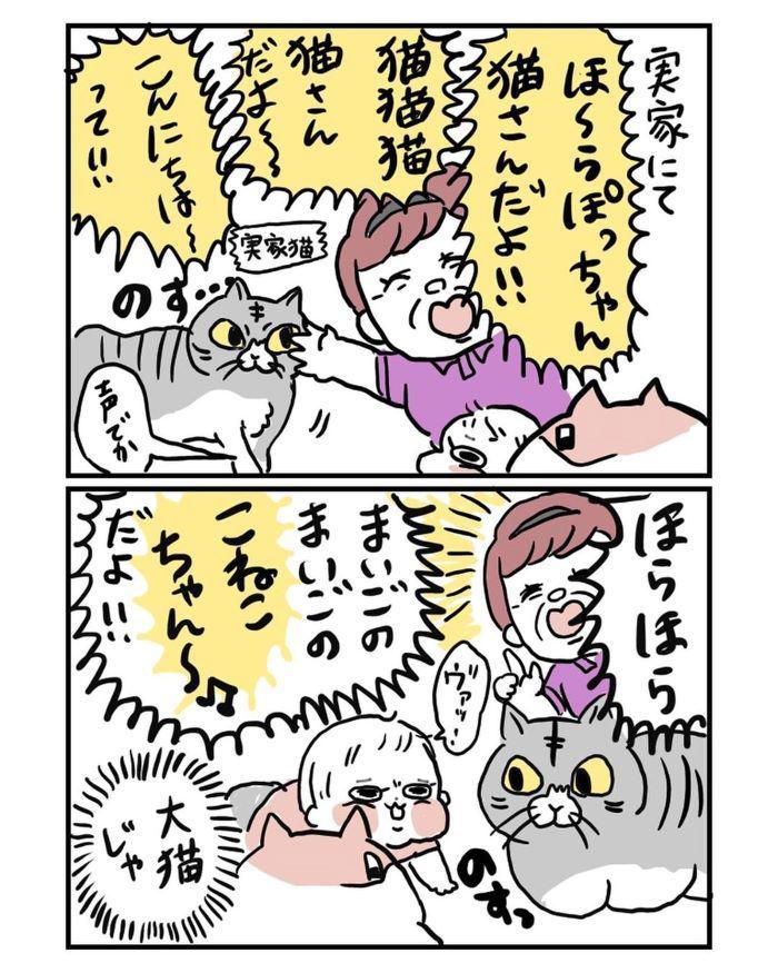 """ばあば渾身の""""いないいないばあ""""が…恐怖以外のなんでもなかった(笑)の画像12"""
