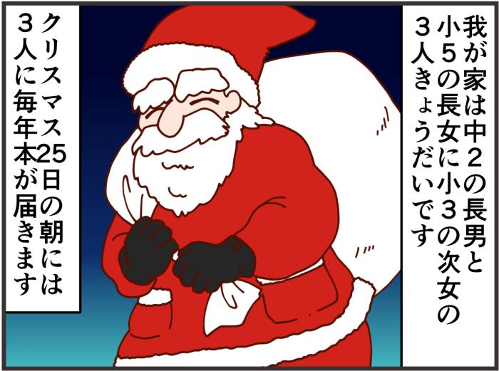中2の息子も待ち望むクリスマス!家族みんなに大人気なサンタのお話。の画像1