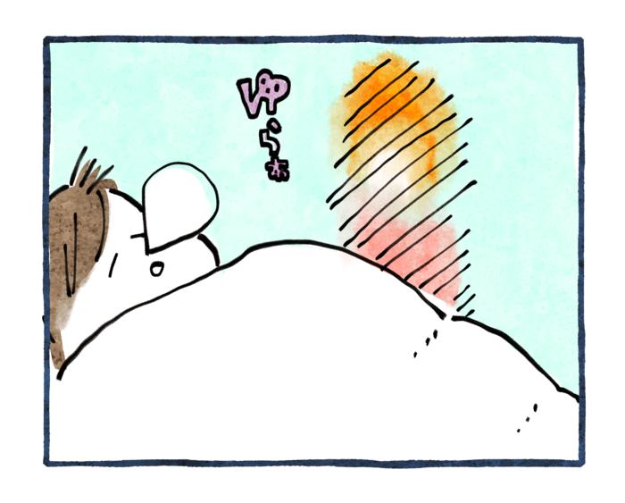 寒い朝の暖かいやりとり。子どもを通じて、実母との思い出もホッコリ蘇る…。の画像1