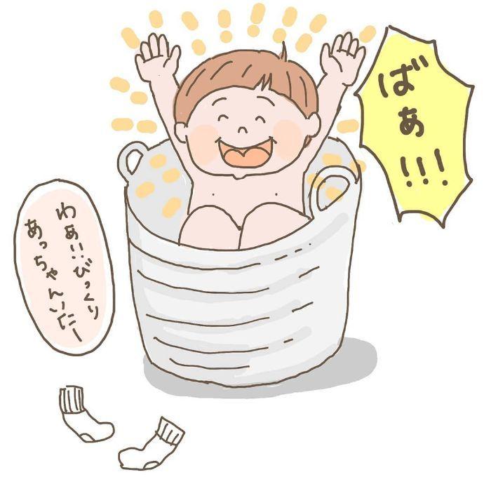 寝かしつけに苦戦の夜→親子で空飛ぶステキな夜に!ほっこり育児アイデアの画像7