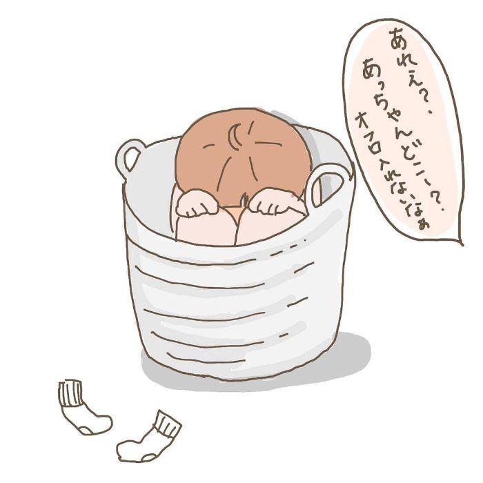 寝かしつけに苦戦の夜→親子で空飛ぶステキな夜に!ほっこり育児アイデアの画像6