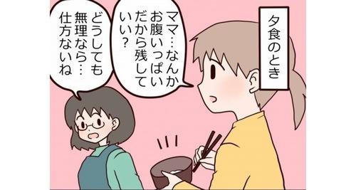 「夕飯はいらないけど、おやつは欲しい!」は、娘の理論ではワガママではなかった…なるほど!のタイトル画像