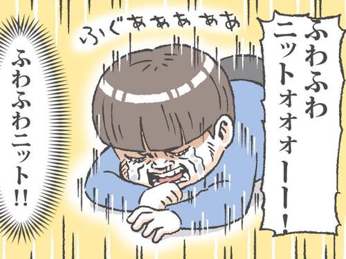 """憧れのねぇねと""""お揃い""""が着られず絶望!!単純で可愛い♡男児育児の日常のタイトル画像"""