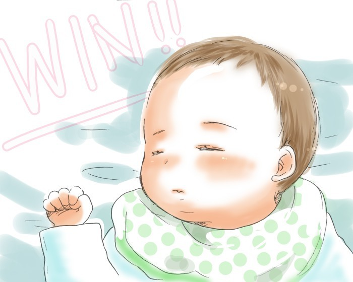 赤ちゃん愛が止まらない!!抱っこからの寝かしつけはもはや競技!の画像10