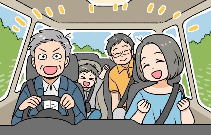 おじいちゃん&孫の思い出作り!補助金もお得なサポカーで快適ドライブの画像14