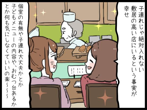 私のご褒美タイム「ちょっと敷居の高いお店で友達とディナー」の画像2