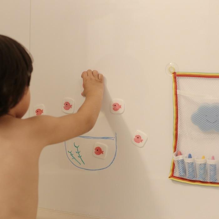お風呂が楽しくなる工作アイデア。イヤイヤっ子もノリノリで入りたくなる!の画像14