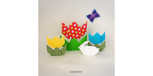 親子で折りたい!簡単&かわいい、人気作家のオリジナル折り紙3選のタイトル画像