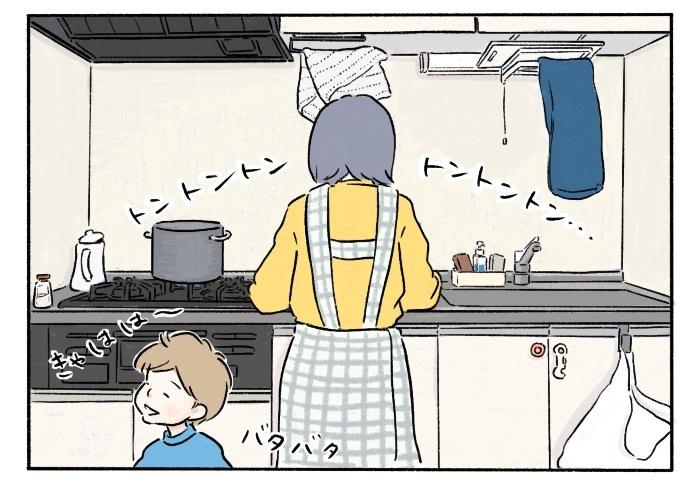夕食メニューに悩んでいる最中の「お腹空いた」コール。この後母は…!?の画像3
