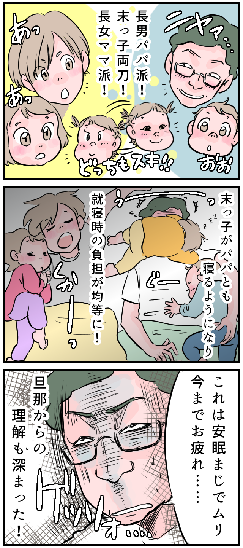 ママっ子だった娘が「パパ〜♡」在宅ワークを機に、ポテンシャルを発揮した夫の画像4