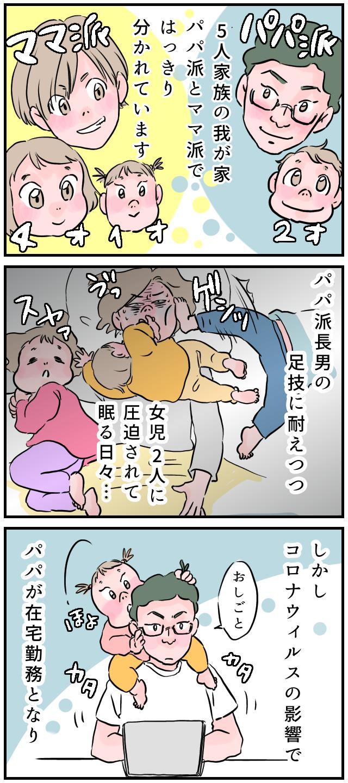 ママっ子だった娘が「パパ〜♡」在宅ワークを機に、ポテンシャルを発揮した夫の画像1