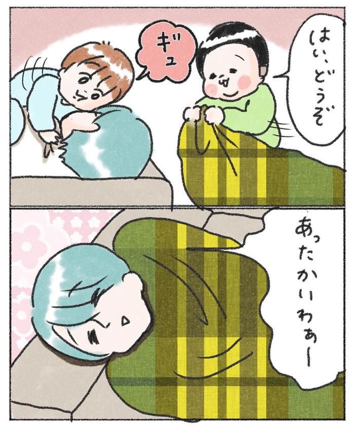3兄弟の寝かしつけ。睡魔とたたかう長男の、眠りたくない理由にジ~ン…♡の画像22