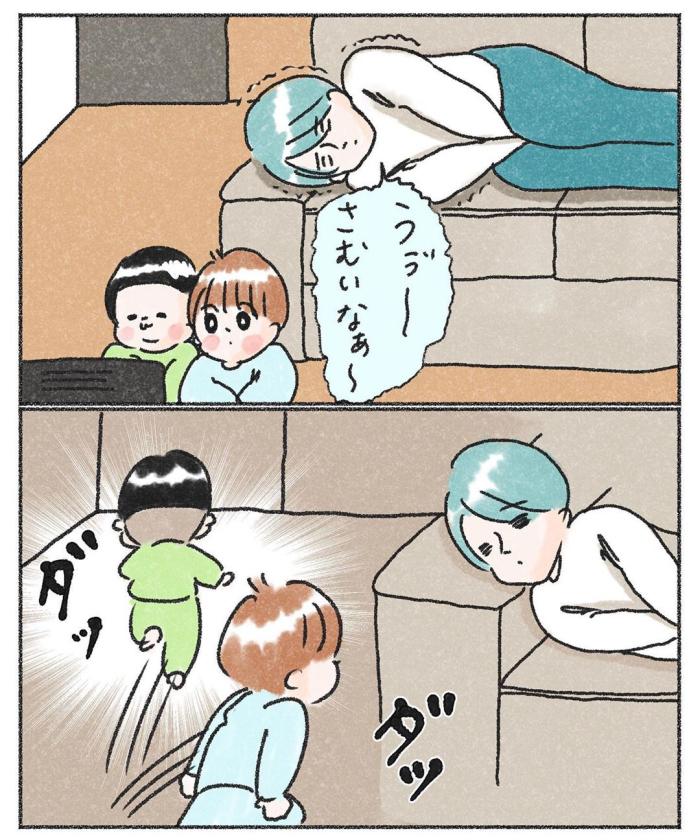 3兄弟の寝かしつけ。睡魔とたたかう長男の、眠りたくない理由にジ~ン…♡の画像21