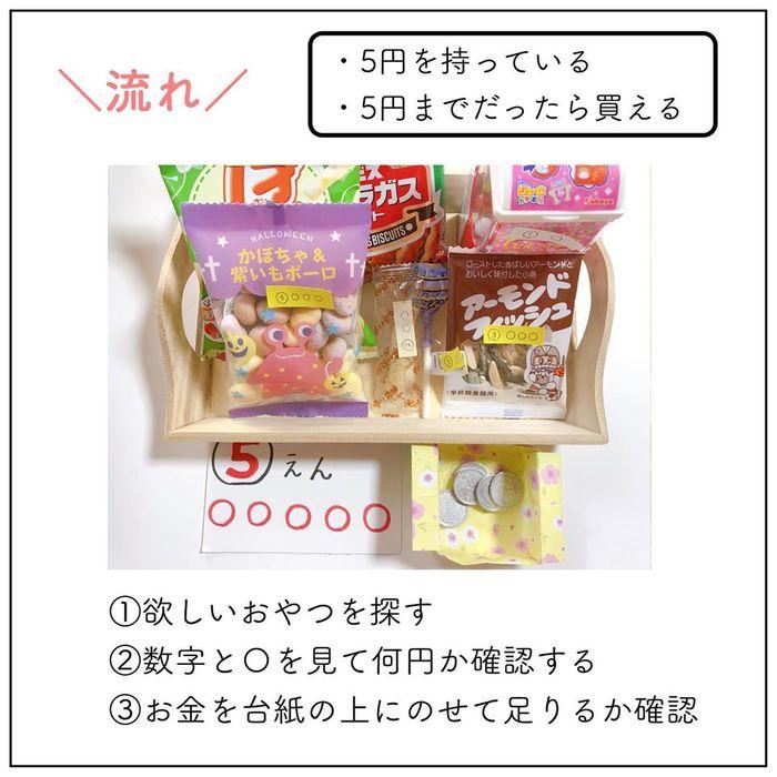 お金を学ぶ最初の一歩に。いきなりお金のおもちゃは使わず、値札も一工夫!の画像5