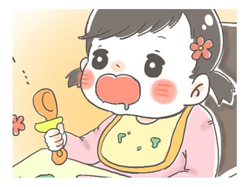 離乳食、同じ箸で食べさせないで~!私より先に夫が動いた。<第四回投稿コンテストNO.11>のタイトル画像