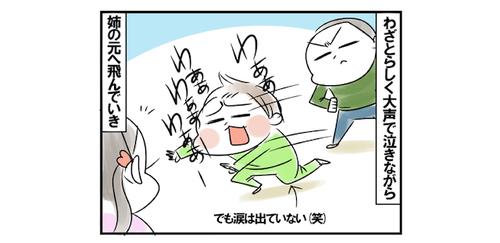 変な知恵がついてきた。怒られた時の末っ子の行動が、もはやギャグ(笑)のタイトル画像