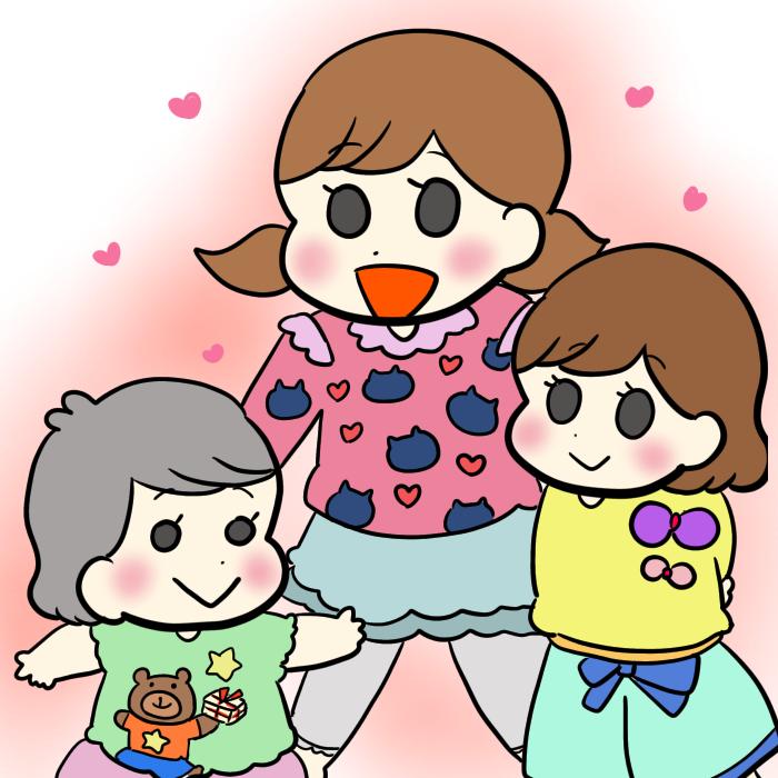妹たちにも、お下がりじゃなく新品を。夫が選ぶ3姉妹の服<第四回投稿コンテストNO.26>の画像5