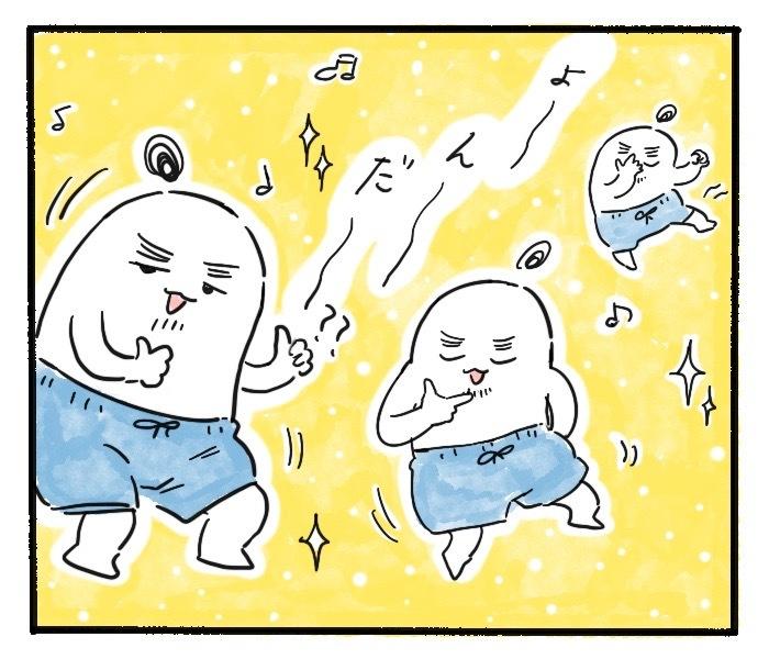 泣いちゃう息子のために、夫が毎回見せてくれる全力ダンス!<第四回投稿コンテストNO.72>の画像11