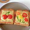 いつものトーストが、ミニトマトで大変身!子どもウケも◎な映えパン特集のタイトル画像