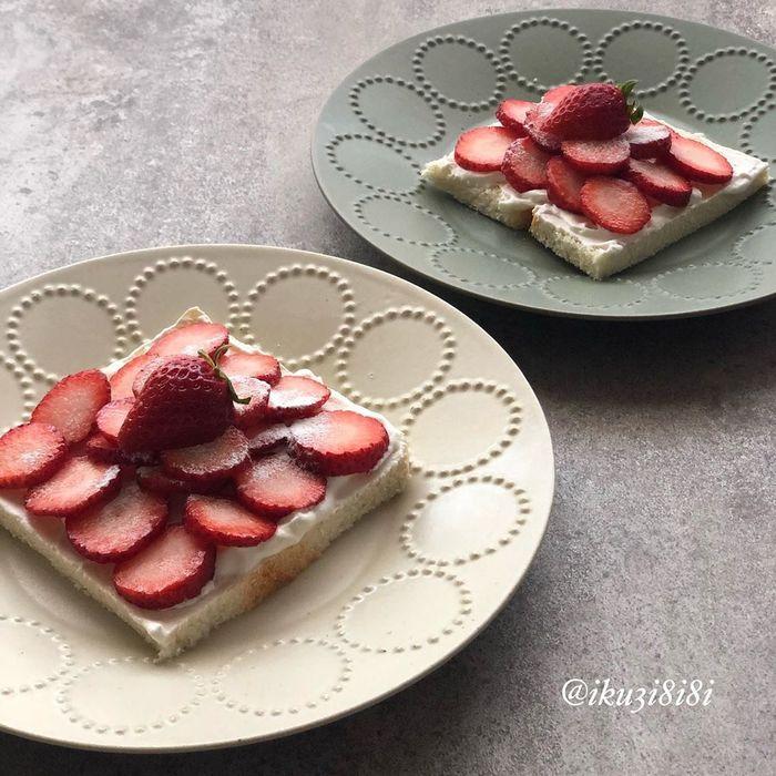 いつものトーストが、ミニトマトで大変身!子どもウケも◎な映えパン特集の画像3