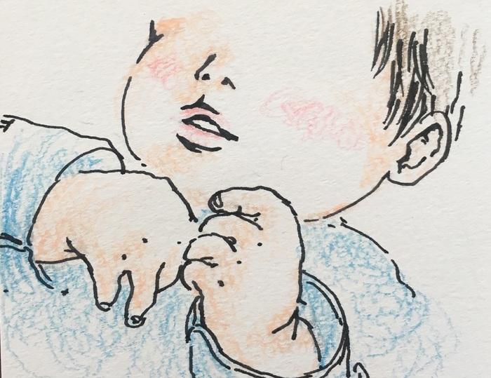 まわりに頼れず、孤独な0歳育児。そんな時、小さな手に救われた<第四回投稿コンテストNO.102>の画像1