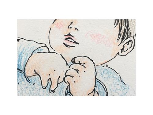 まわりに頼れず、孤独な0歳育児。そんな時、小さな手に救われた<第四回投稿コンテストNO.102>のタイトル画像