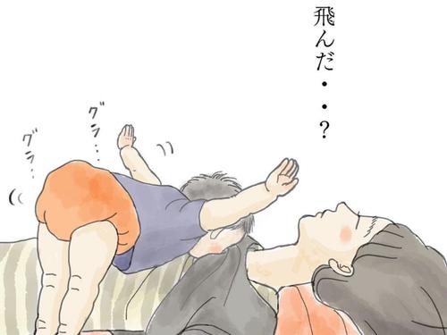 少しでも目をつぶっていたい。切なる願いの授乳中、子が、飛んだ…!?のタイトル画像