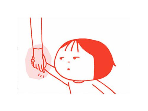 母と手をつなぐ時、「ぎゅっ」の強さで、愛情をはかってた。のタイトル画像