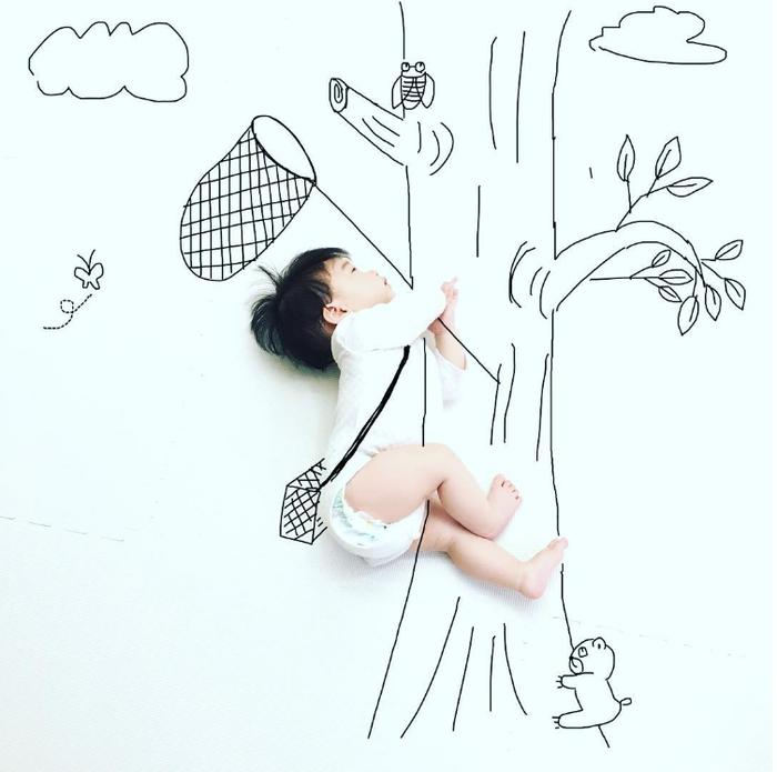 今年の夏こそ室内チャレンジ!癒しのお昼寝アートや赤ちゃんの面白写真を特集!の画像2