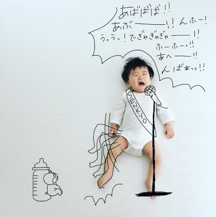 今年の夏こそ室内チャレンジ!癒しのお昼寝アートや赤ちゃんの面白写真を特集!の画像3