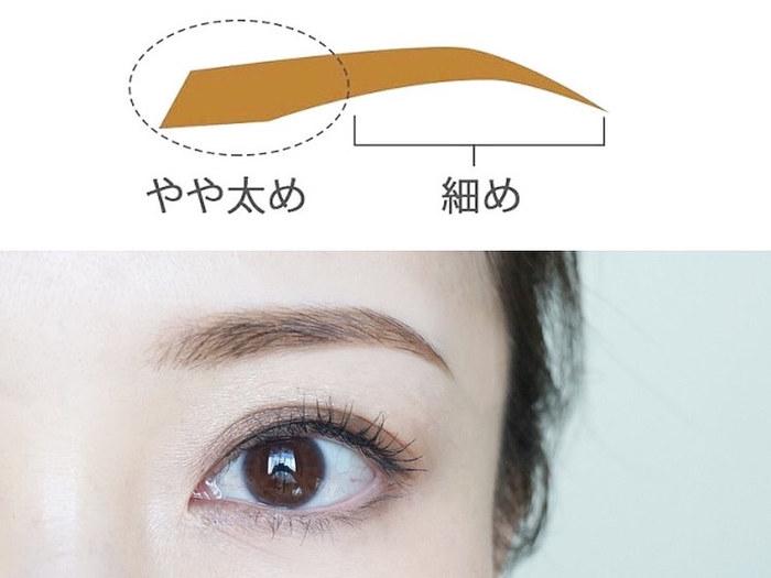 自分に似合う、眉の太さの見つけ方とは…?トレンド眉メイクのポイントも!の画像10