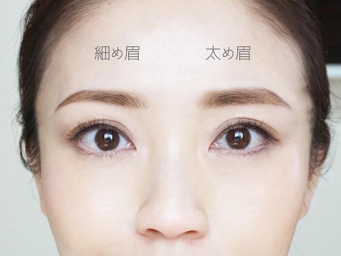 自分に似合う、眉の太さの見つけ方とは…?トレンド眉メイクのポイントも!の画像8