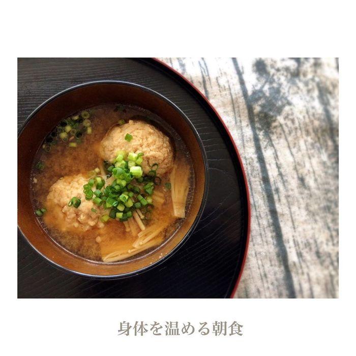 野菜も肉もたっぷり、体ポカポカ♡出汁から作るお味噌汁レシピの画像2