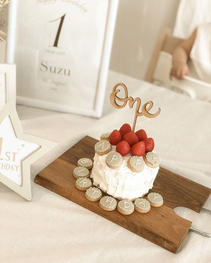 ケーキにプレート、選びとりカード…1歳誕生日は特別♡素敵アイデアまとめの画像1