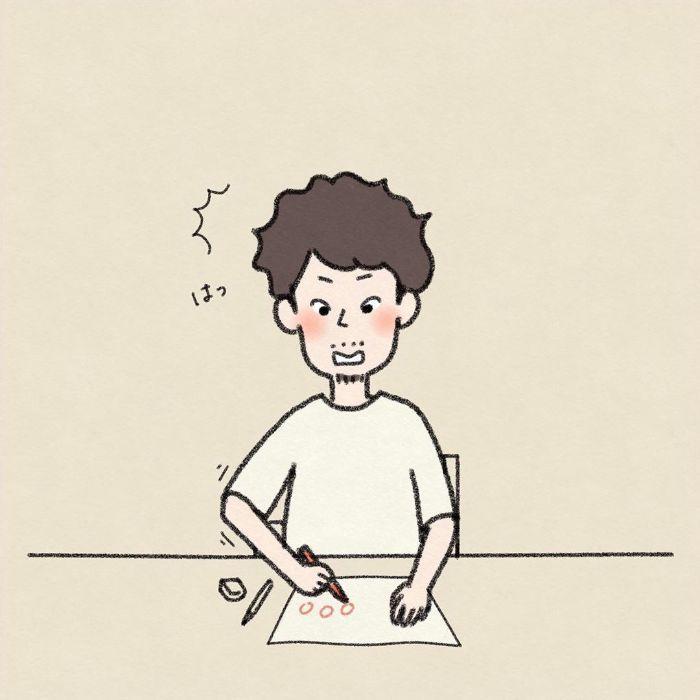 漢字の宿題に苦戦!パパの熱~い解説に、息子よ…その反応はないぞ(笑)の画像10