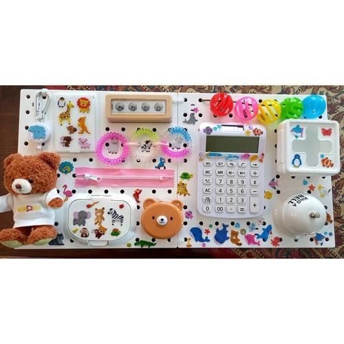 0~1歳さんに♡ビジーボードや引っ張りおもちゃ、手作りしてみませんか?のタイトル画像