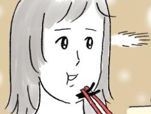 子どもの一言にハッ…!曇りなき眼に暴かれる、母のちょい恥ずかしいクセのタイトル画像