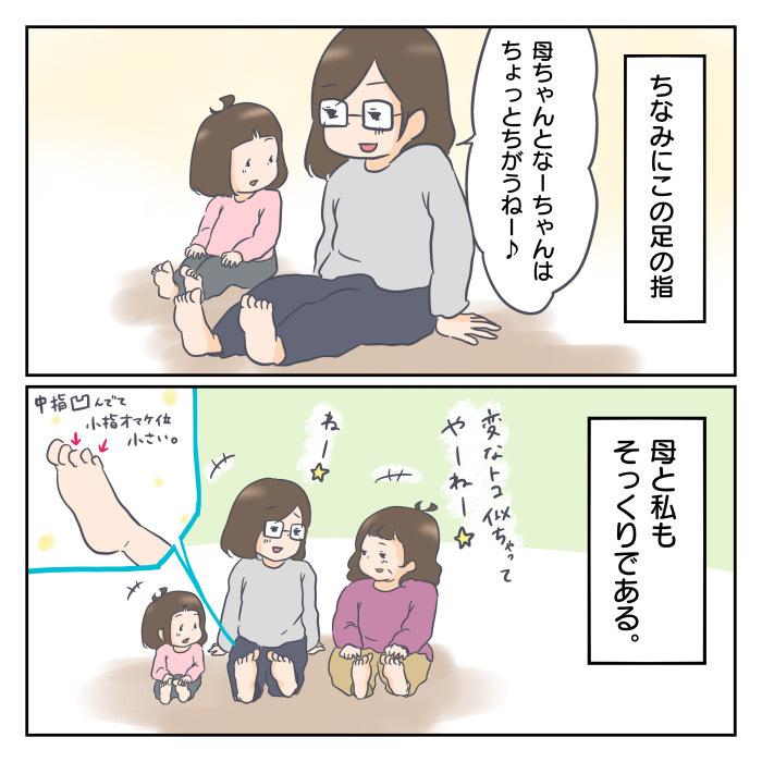 ◯◯◯がそっくり‼︎思わず笑ってしまった旦那と娘のそっくりポイント。の画像3
