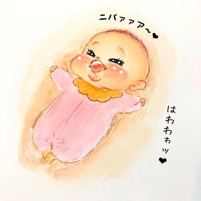 ゴクッ…これは泣く5秒前…!?表情ひとつで翻弄する、生まれたての日々♡の画像6