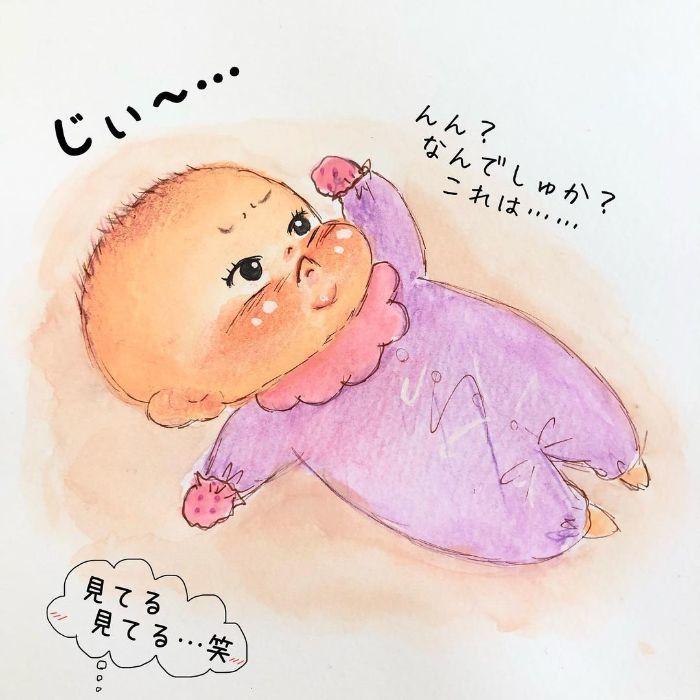 ゴクッ…これは泣く5秒前…!?表情ひとつで翻弄する、生まれたての日々♡の画像13