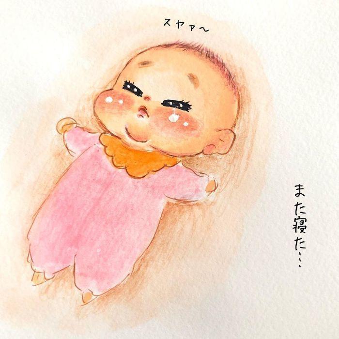 ゴクッ…これは泣く5秒前…!?表情ひとつで翻弄する、生まれたての日々♡の画像3
