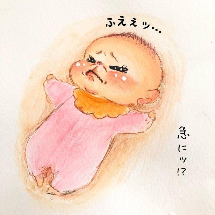 ゴクッ…これは泣く5秒前…!?表情ひとつで翻弄する、生まれたての日々♡の画像7