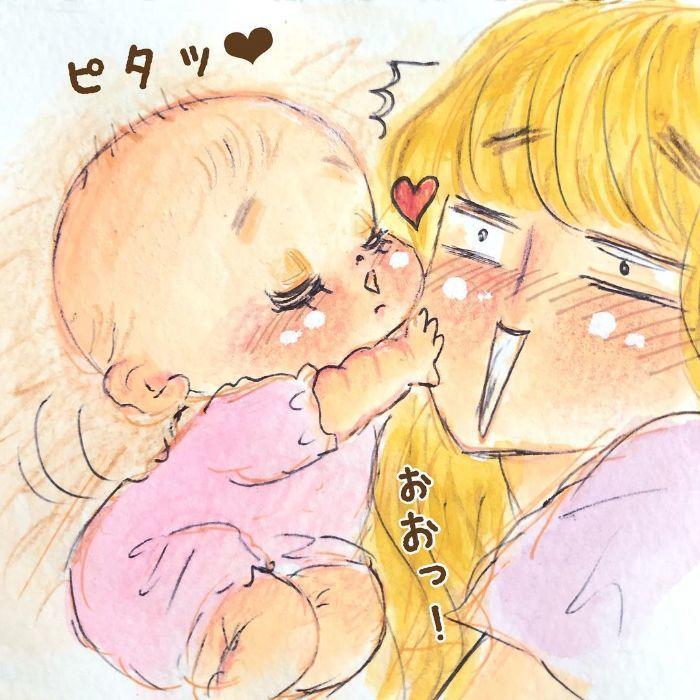 ゴクッ…これは泣く5秒前…!?表情ひとつで翻弄する、生まれたての日々♡の画像20