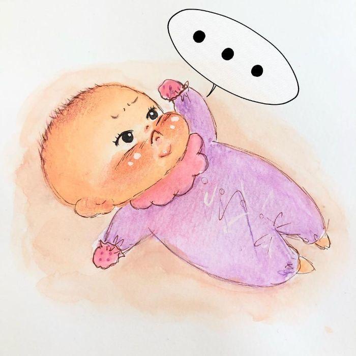 ゴクッ…これは泣く5秒前…!?表情ひとつで翻弄する、生まれたての日々♡の画像14